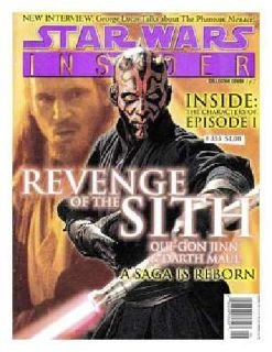 Vintage STAR WARS INSIDER MAGAZINE ISSUE 43: REVENGE OF THE SITH