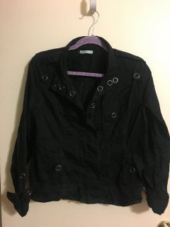 Black light jacket