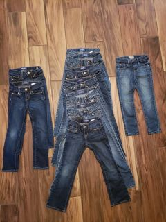 Old Navy jeans lot girls size 6