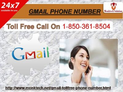 Instantaneous regard from Gmail Phone Number  1-850-361-8504