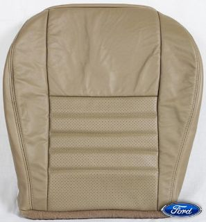 Find 99-04 Ford Mustang Saleen GT SuperCharged *Driver Bottom Leather Seat Cover TAN* motorcycle in Houston, Texas, US, for US $189.00