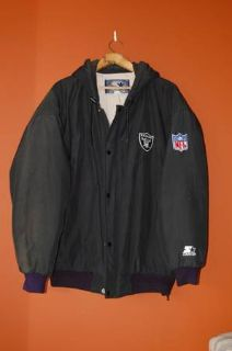 Raiders parka by Starter  extras