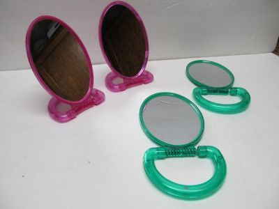 Stand Up Travel Mirrors $0.50 Each