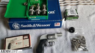 For Sale: S&W .38 sp+p with crimson trace grip