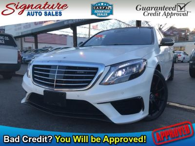 2015 Mercedes-Benz S-Class S63 AMG (White)