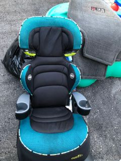 Hogh back booster seat