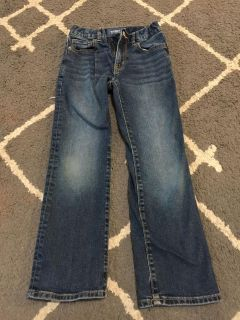 Old Navy Boys 8 Straight Jeans