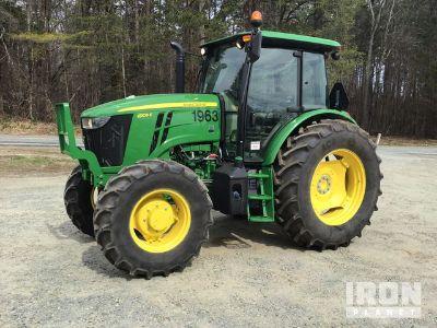 2018 John Deere 6105E 4WD Tractor