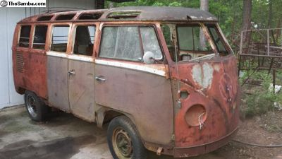 1964 21 Window Deluxe Micro Bus Project
