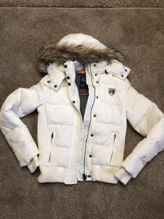 American Eagle coat with removable hood. Size medium. $10