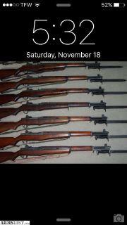 Want To Buy: Wtb surplus rifles /ammo