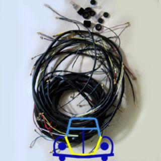 Ghia Deluxe Wiring Harness, 56-59