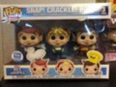 Funko Pop Snap Crackle Pop - New
