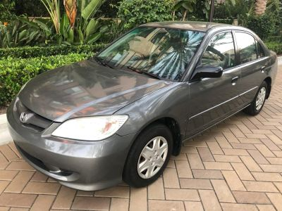 2005 Honda Civic Value Package (Magnesium Metallic)