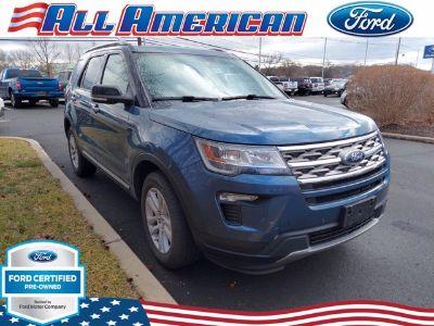 2018 Ford Explorer XLT (Blue Metallic)