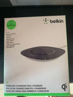 Belkin wireless iPhone charging pad&charger