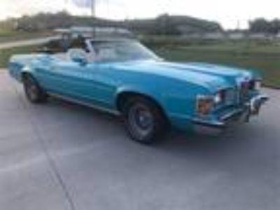 1973 Mercury Cougar C6 Automatic