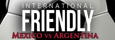 International Friendly MEXICO vs ARGENTINA at ATT Stadium Formerly Dallas Cowboys Stadium 9815