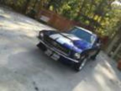 1967 Ford Mustang 1967 Mustang Fastback California Black Plate