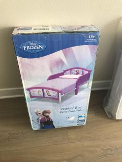 New Frozen Toddler bed