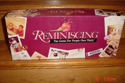 Reminiscing, The Game for People Over Thirty