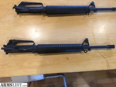 For Sale: New Colt M16a2 upper. Complete with BCG. 5.56 factory built,
