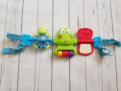 Bright Starts baby infant carrier stroller toy bar