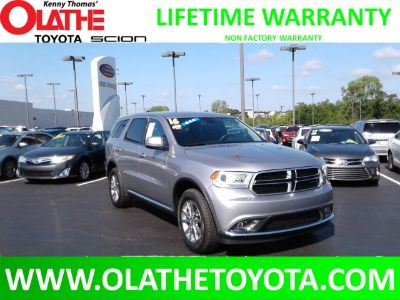 2016 Dodge Durango SXT (Billet Silver Metallic Clearcoat)
