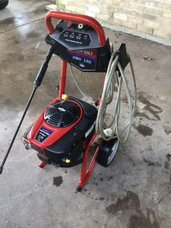 Troy built pressure washer (parts)