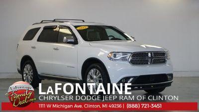 2015 Dodge Durango Citadel (white)