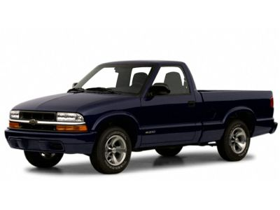 2001 Chevrolet S-10 LS (Onyx Black)