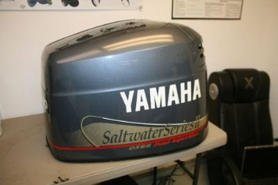 Find CLEAN USED 200 HP YAMAHA OUTBOARD SALTWATER SERIES II COWLING HOOD motorcycle in Scottsville, Kentucky, United States, for US $149.00