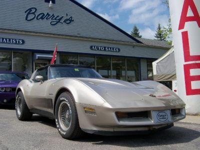 1982 Chevrolet Corvette Anniversary Edition.