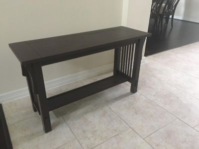 rectangular expresso wooden coffee table