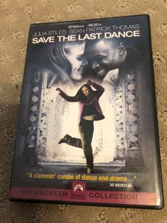 Save the last dance DVD. **SWAP ONLY**