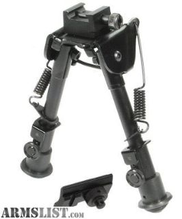 "For Sale: Leapers UTG TLBP88 Bipod, Height 8.1""-12.7"""