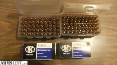 For Sale: 5.7x28 Ammo