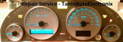 Find Repair Service 2003, 04, 05, 2006 Buick Rendezvous LeSabre Cluster Speedometer motorcycle in Racine, Wisconsin, United States, for US $64.99