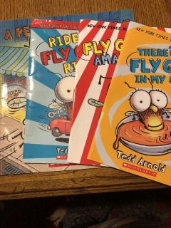 Lot of books! (Fly guy sold)
