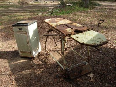 Vintage Sterilizer  Exam Table