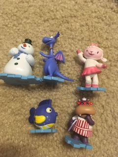 Doc McStuffins Figurines from Disney Store