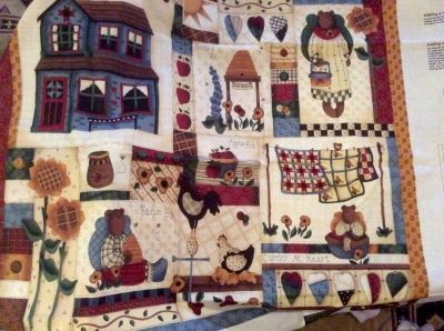 Country Bears at Heart Wallhanging