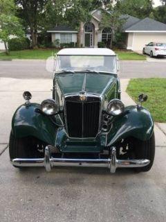 1953 MGTD (replica)