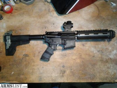For Sale: 7.5 inch AR .223 pistol