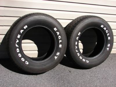 Purchase NOS VINTAGE GOODYEAR EAGLE ST 255/60R15 TIRES 78 79 80 81 82 CORVETTE motorcycle in East Earl, Pennsylvania, United States, for US $1,000.00