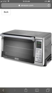 Electric oven -toaster