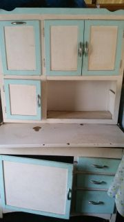 VINTAGE CHINA /OR HOOSIER CABINET