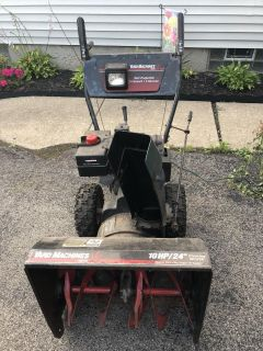 Yard machine Snow Thrower