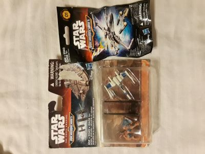 Star Wars micro machines toys