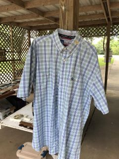 George Strait - short sleeve shirt - size large tall - never been worn